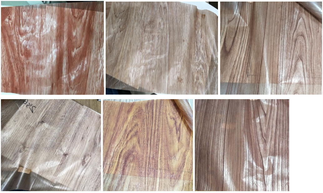 Wood Grain Transfer Film for Wood Effect